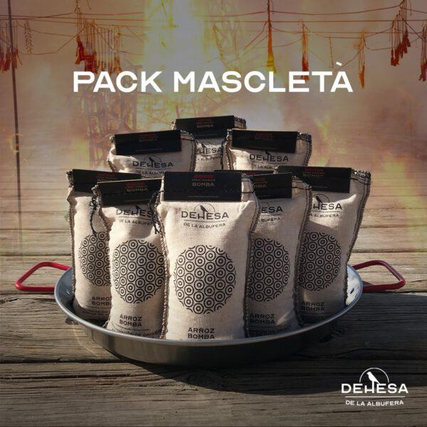 pack mascleta